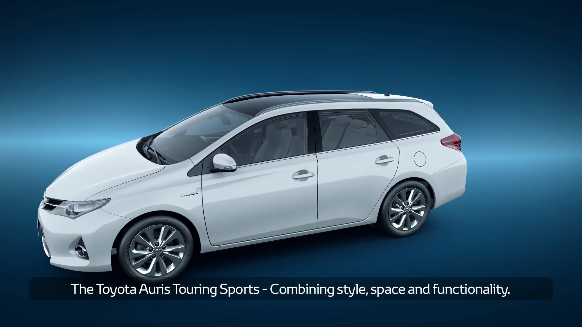 Auris Hybrid Touring Sports Functionality With Captions